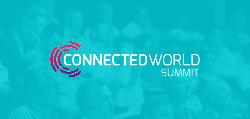 connected world logo 2018 london